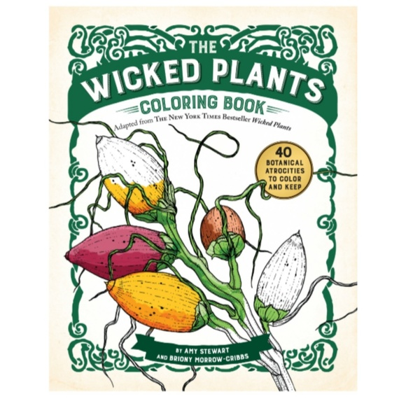 Other - Wicked Plants Coloring Book
